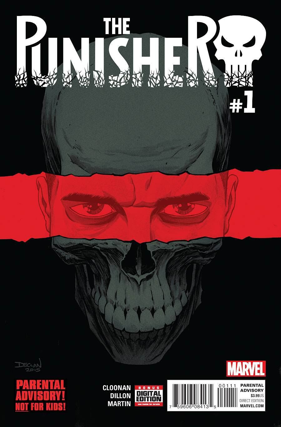 Punisher Vol 10 #1 Cover A 1st Ptg Regular Declan Shalvey Cover