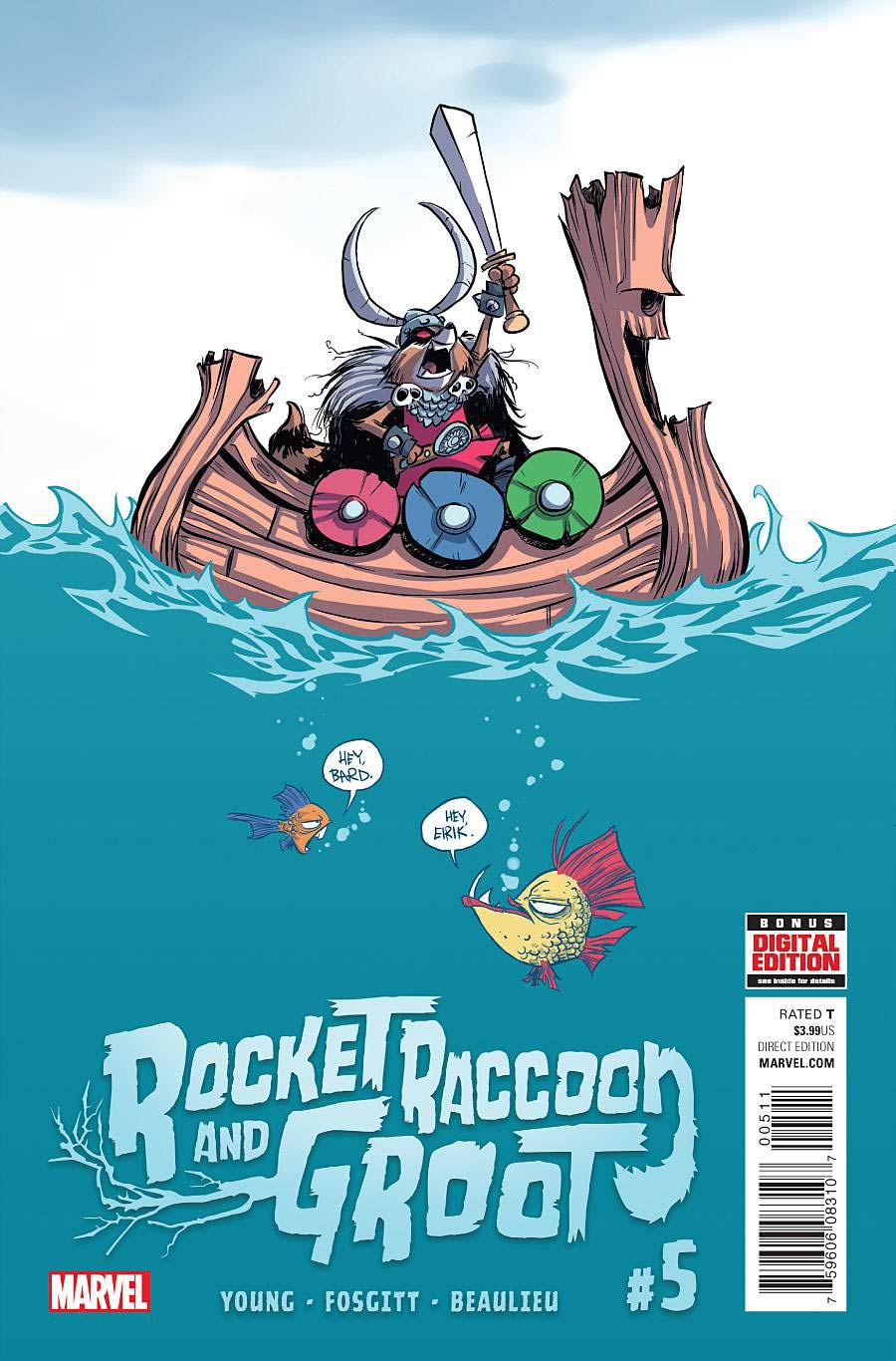 Rocket Raccoon And Groot #5