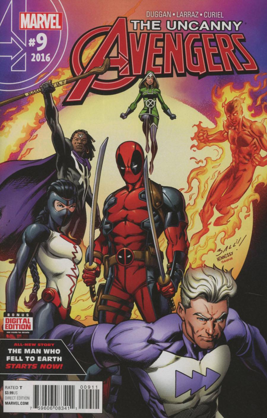 Uncanny Avengers Vol 3 #9
