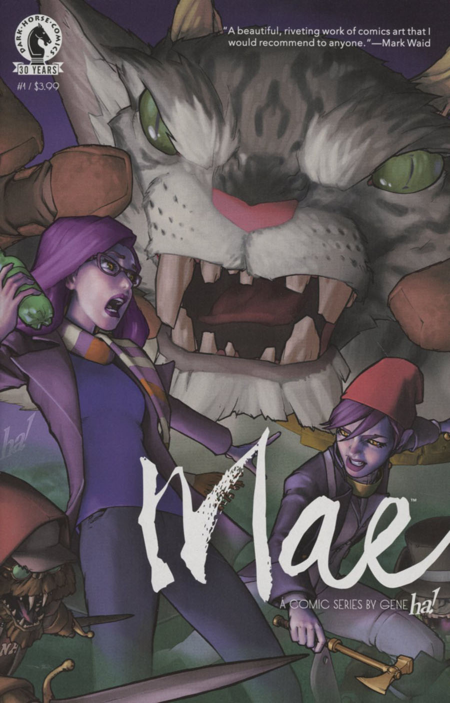 Mae #1 Cover A Regular Gene Ha Cover