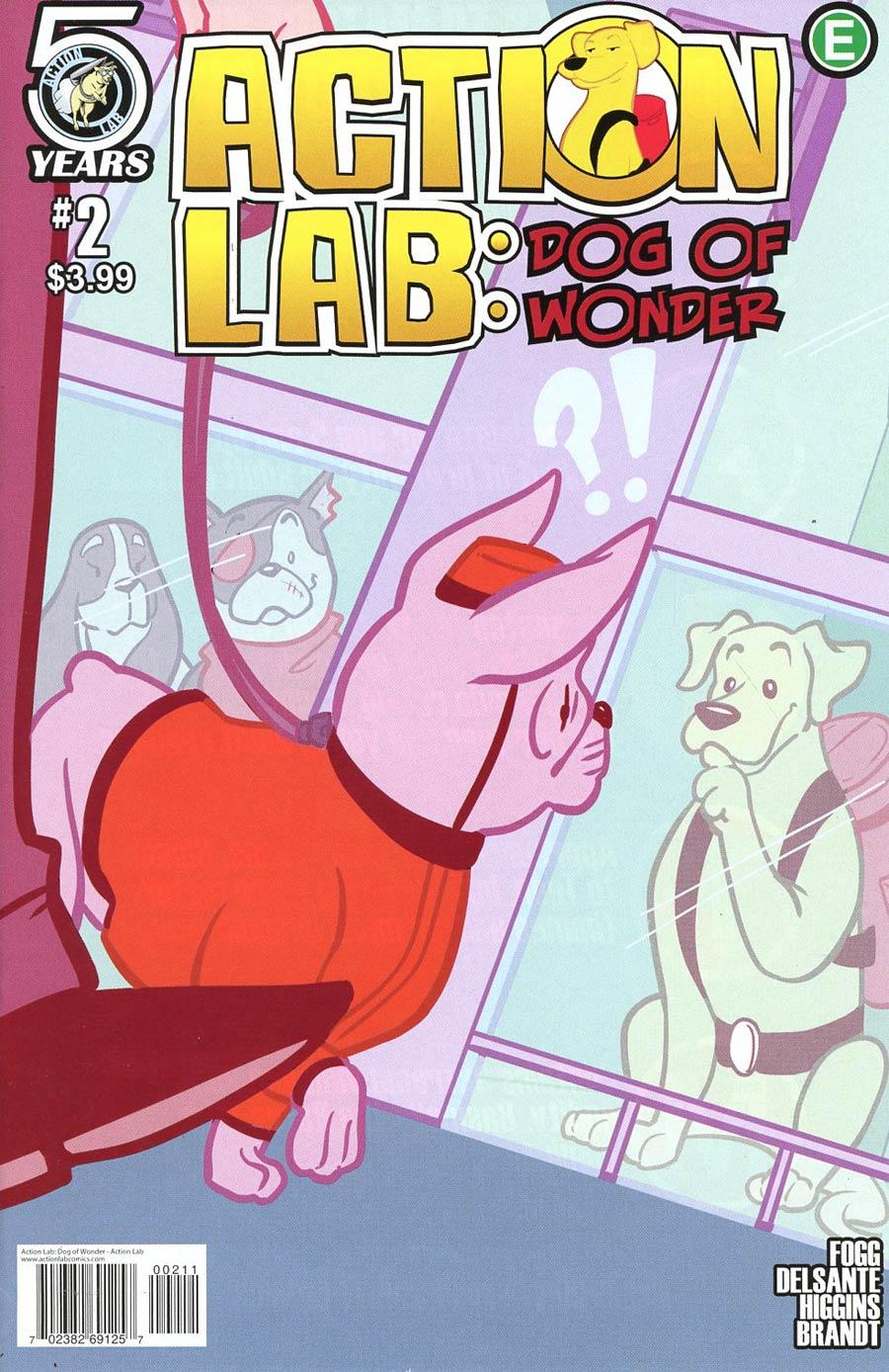 Action Lab Dog Of Wonder #2 Cover A Regular Rosy Higgins & Ted Brandt Cover