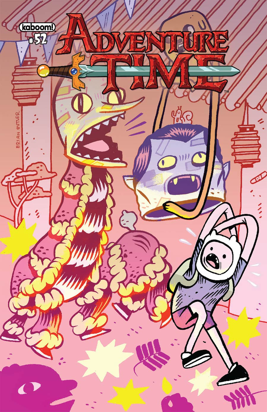 Adventure Time #52 Cover B Variant Brian Butler Subscription Cover