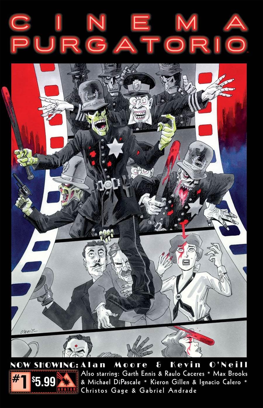 Cinema Purgatorio #1 Cover A Regular Cover