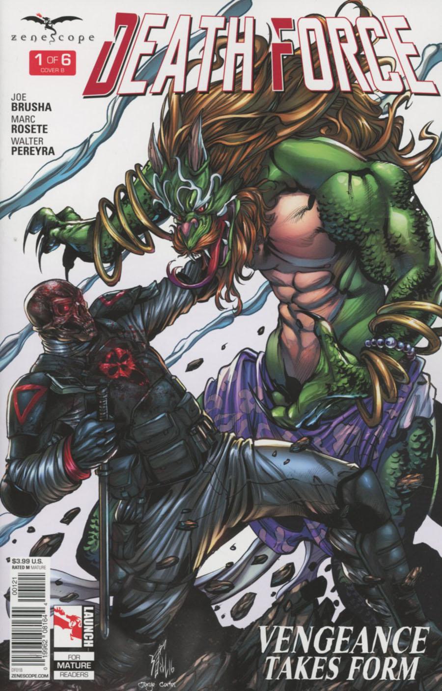 Death Force #1 Cover B Sean Hill