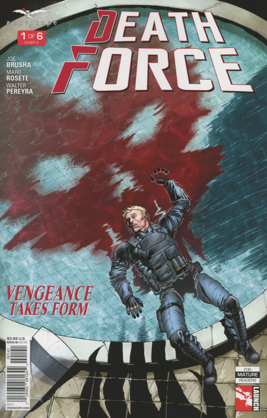 Death Force #1 Cover D Robert Atkins