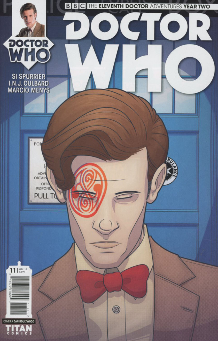 Doctor Who 11th Doctor Year Two #11 Cover A Regular Dan Boultwood Cover