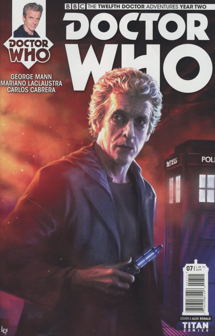 Doctor Who 12th Doctor Year Two #7 Cover A Regular Alex Ronald Cover