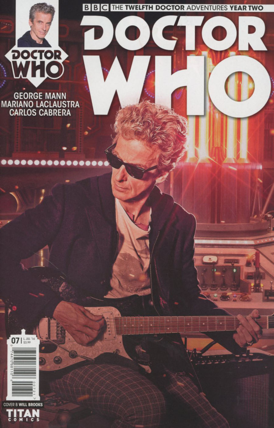 Doctor Who 12th Doctor Year Two #7 Cover B Variant Photo Cover