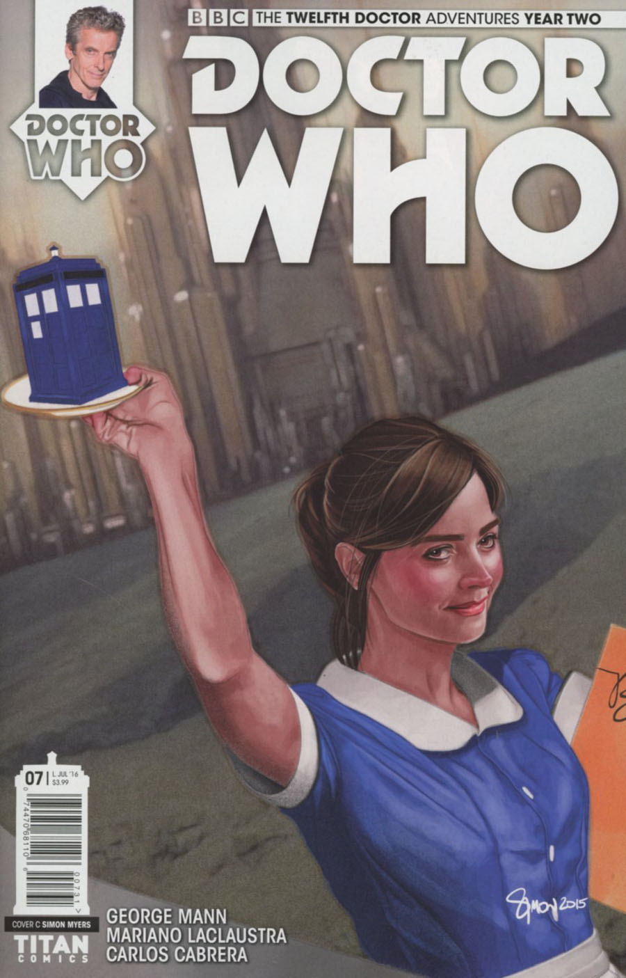 Doctor Who 12th Doctor Year Two #7 Cover C Variant Simon Myers Cover
