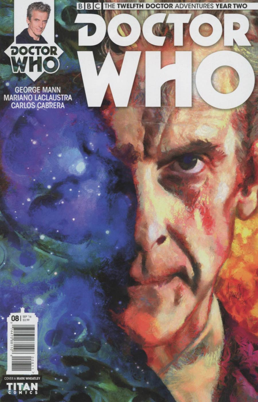 Doctor Who 12th Doctor Year Two #8 Cover A Regular Mark Wheatley Cover