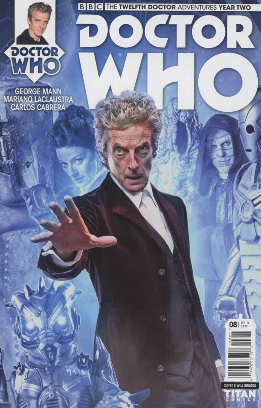 Doctor Who 12th Doctor Year Two #8 Cover B Variant Photo Cover