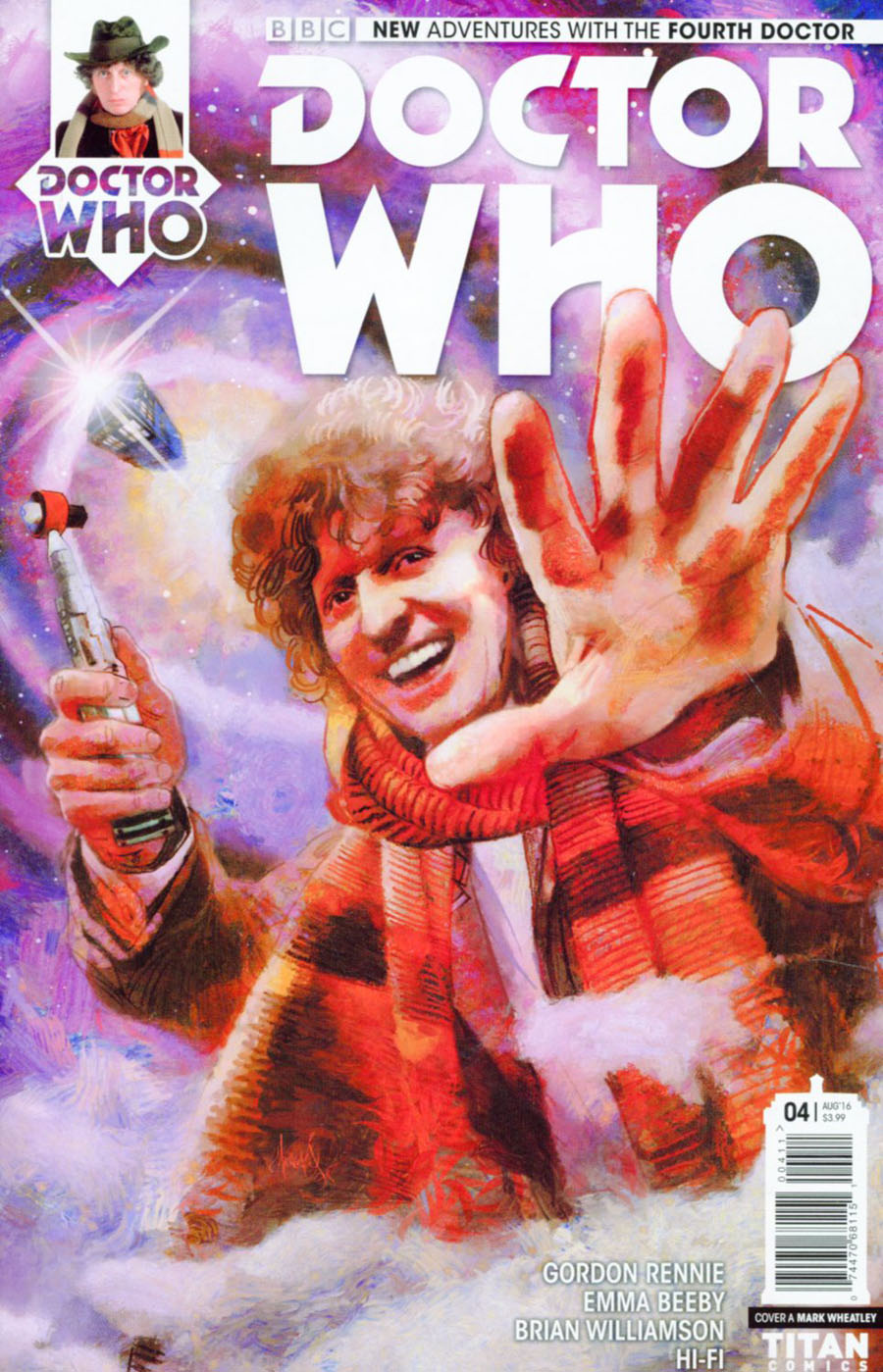 Doctor Who 4th Doctor #4 Cover A Regular Mark Wheatley Cover