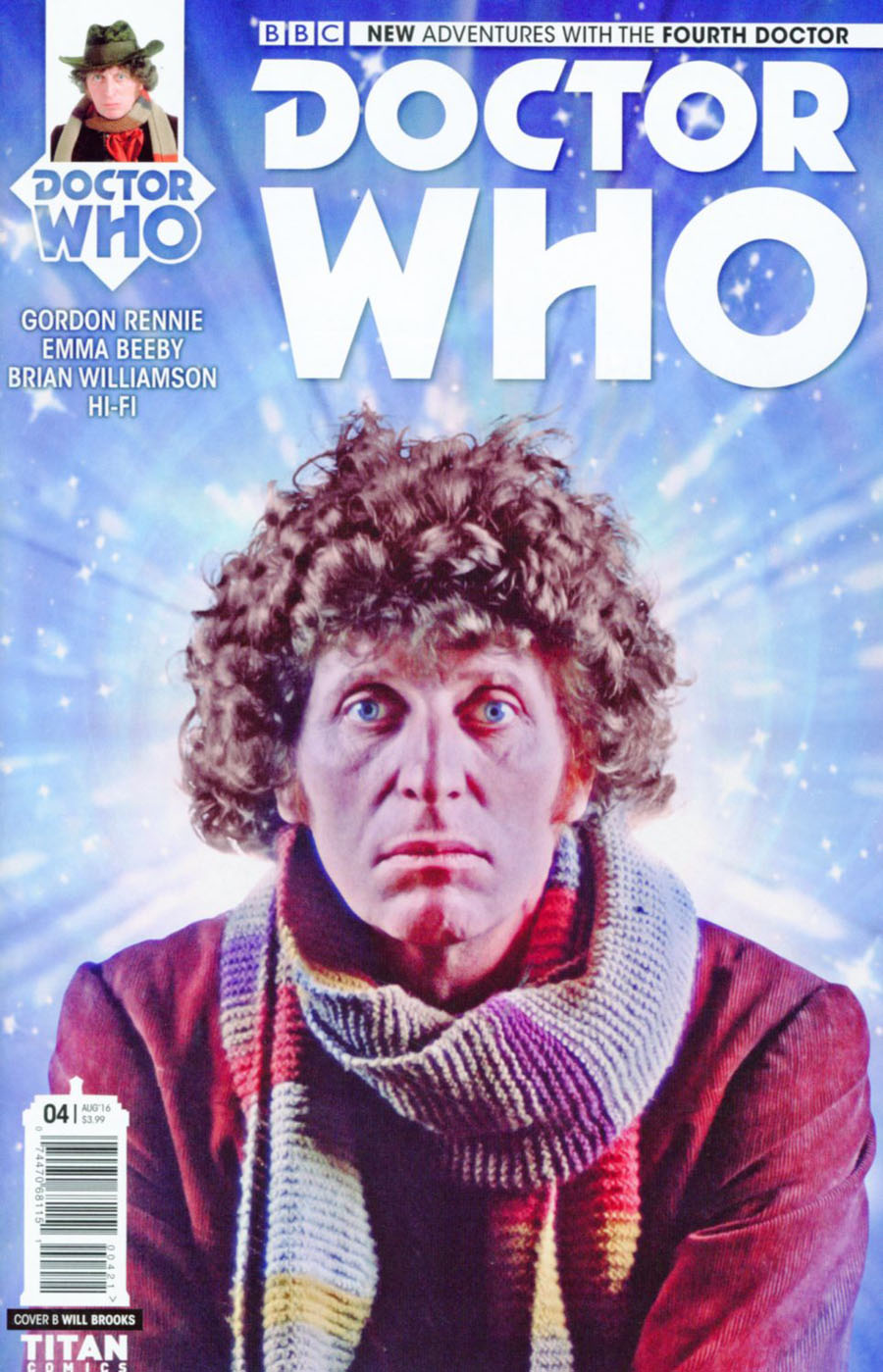 Doctor Who 4th Doctor #4 Cover B Variant Photo Cover