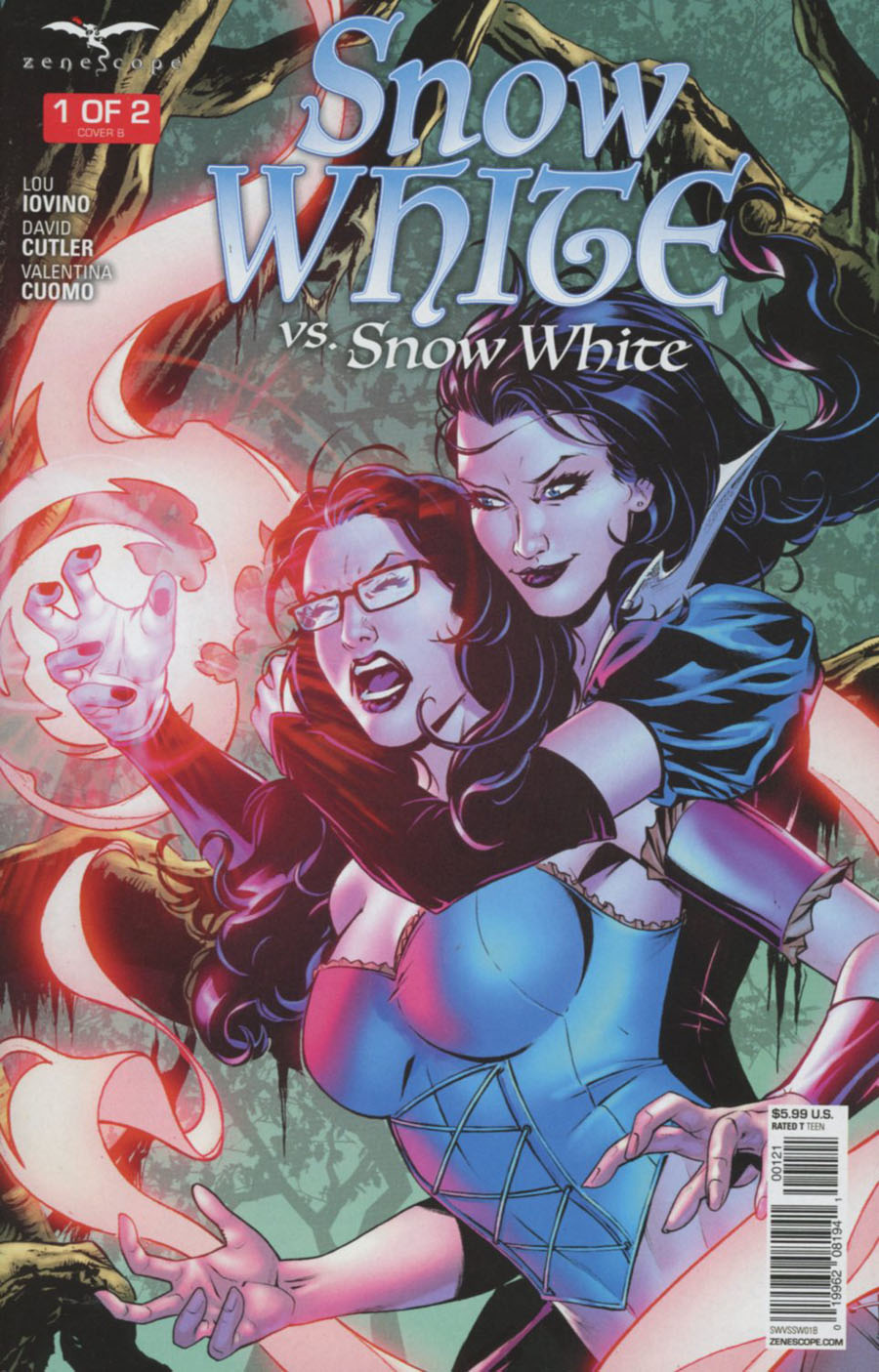 Grimm Fairy Tales Presents Snow White vs Snow White #1 Cover B David Lorenzo Riveiro
