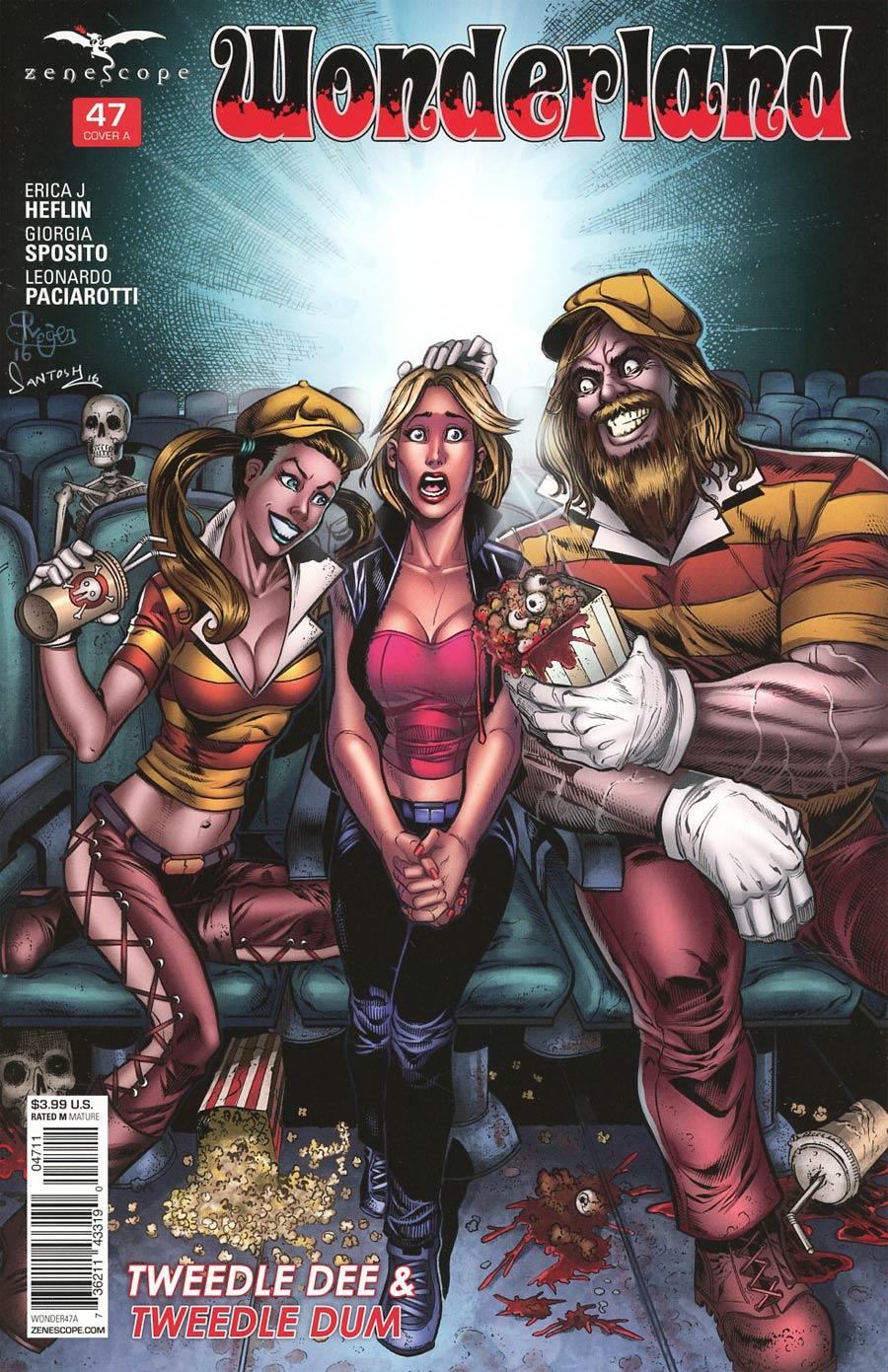 Grimm Fairy Tales Presents Wonderland Vol 2 #47 Cover A Roger Bonet
