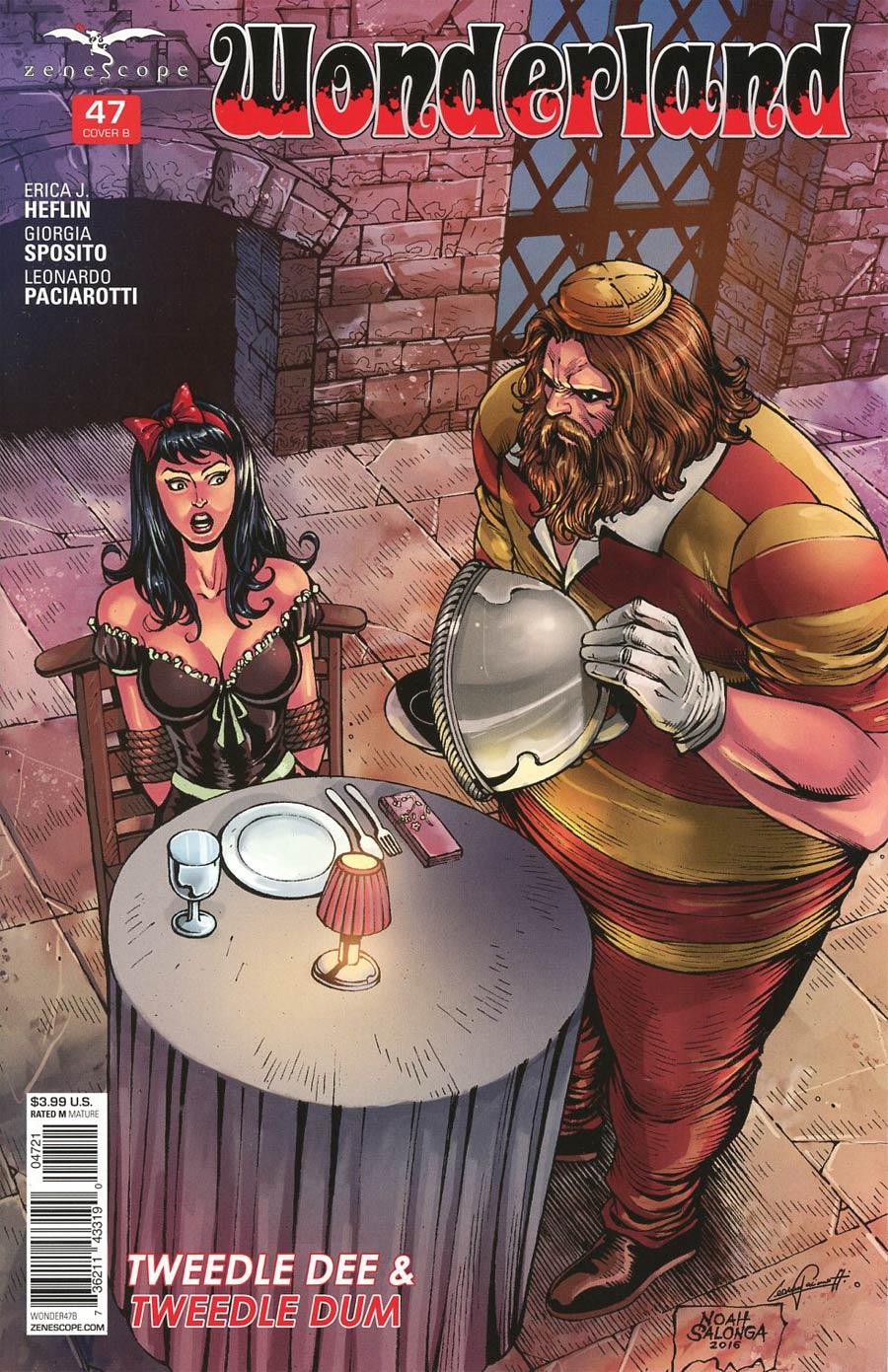 Grimm Fairy Tales Presents Wonderland Vol 2 #47 Cover B Noah Salonga