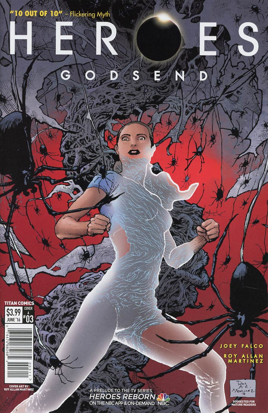 Heroes Godsend #3 Cover A Regular Roy Allan Martinez Cover
