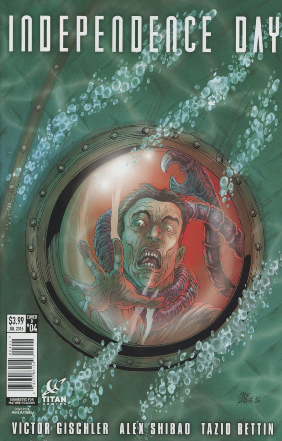 Independence Day #4 Cover B Variant Mike Ratera Cover