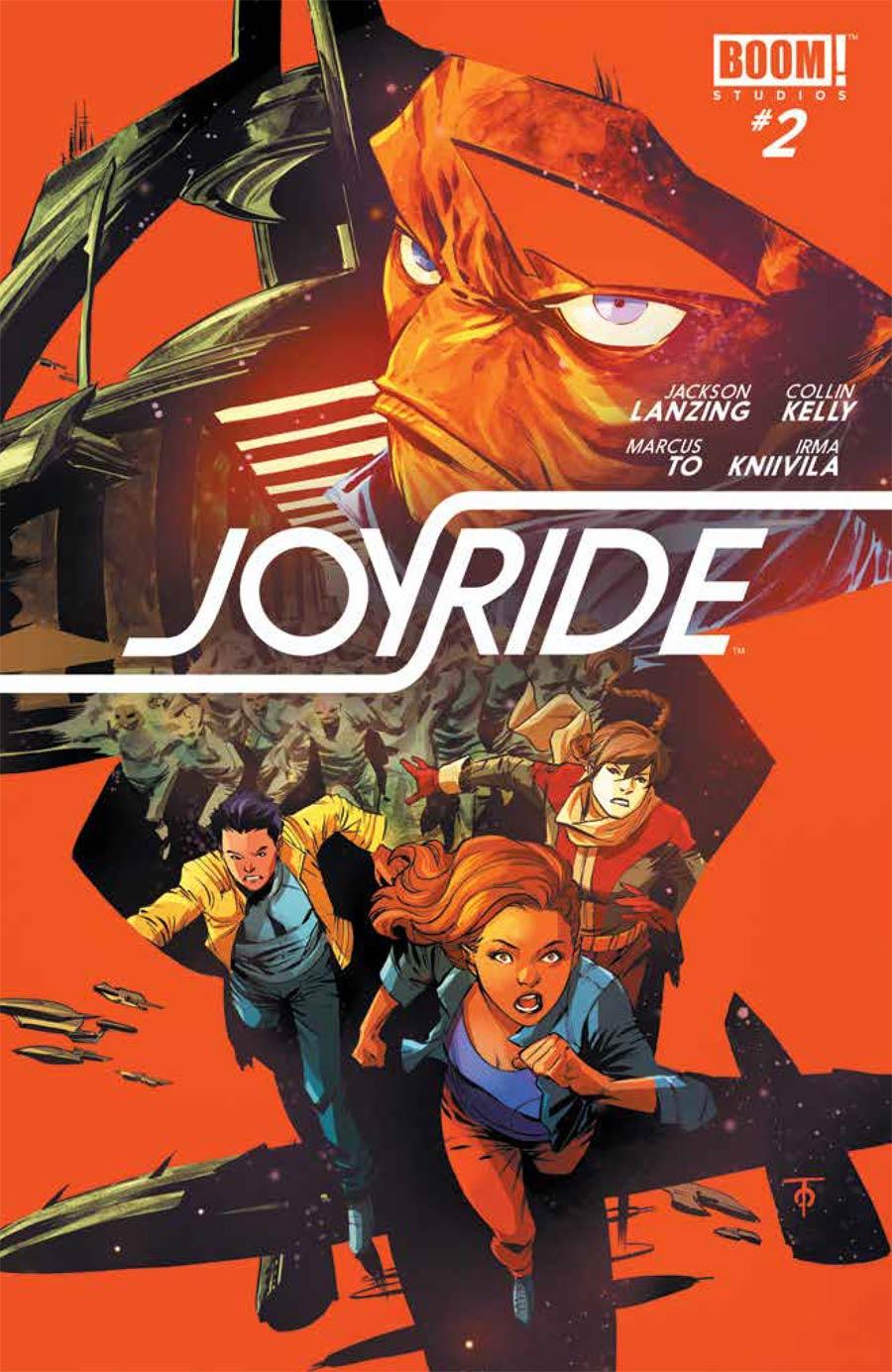 Joyride #2 Cover A 1st Ptg