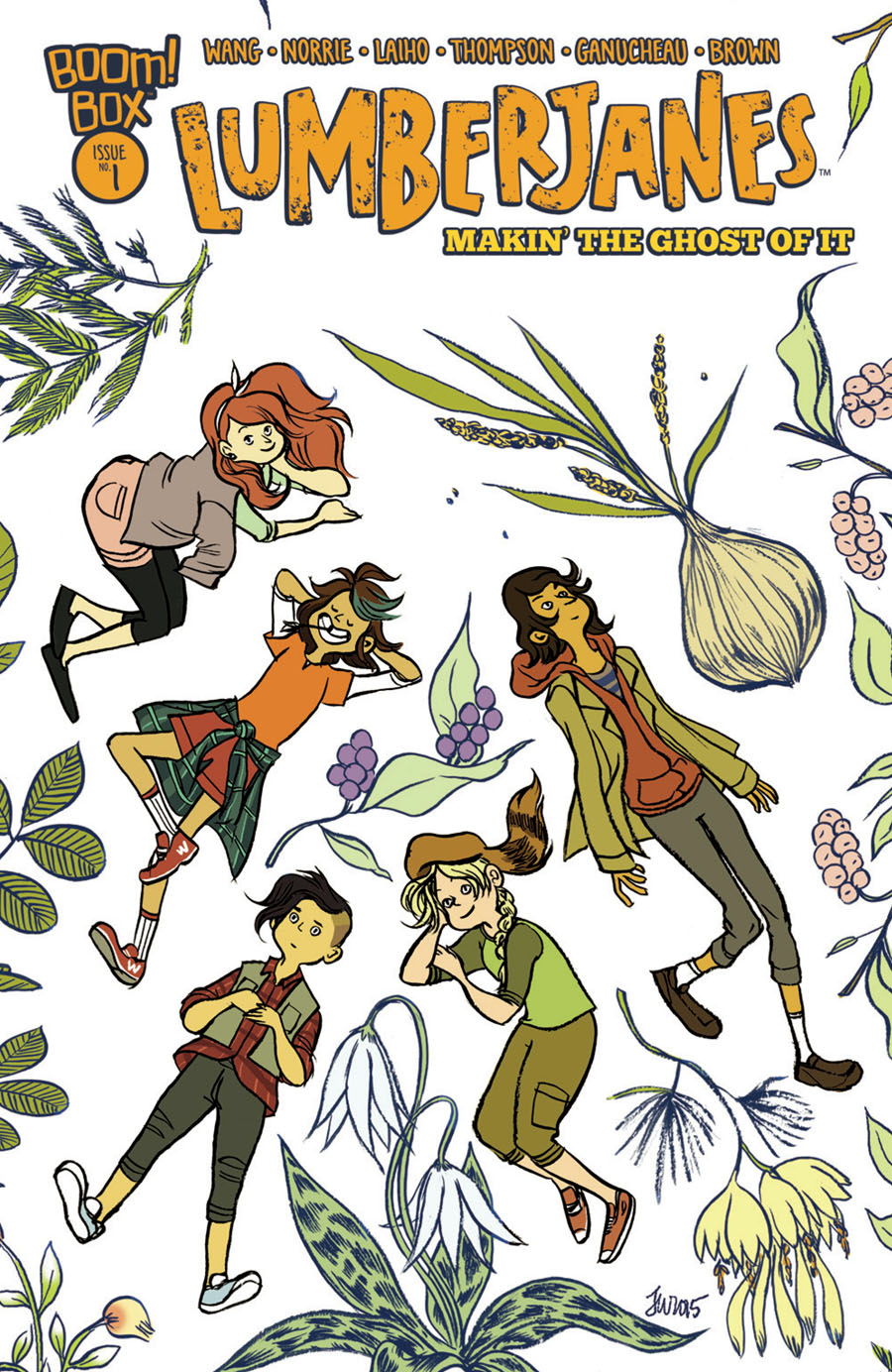 Lumberjanes 2016 Special Makin The Ghost Of It #1 Cover A Regular Jen Wang Cover