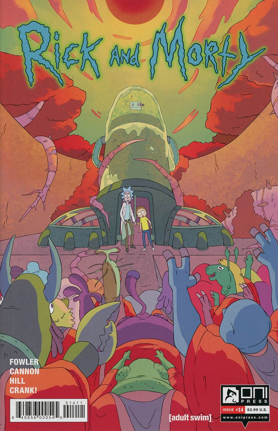 Rick And Morty #14 Cover A Regular CJ Cannon Cover