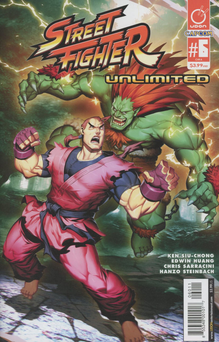 Street Fighter Unlimited #6 Cover A Regular Genzoman Story Cover