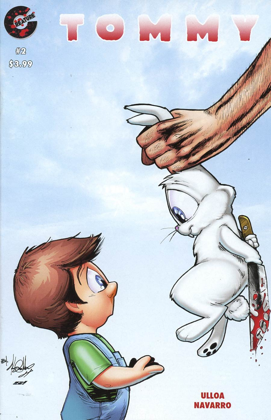 Tommy #2 Cover A Regular Kenny Calderon Cover