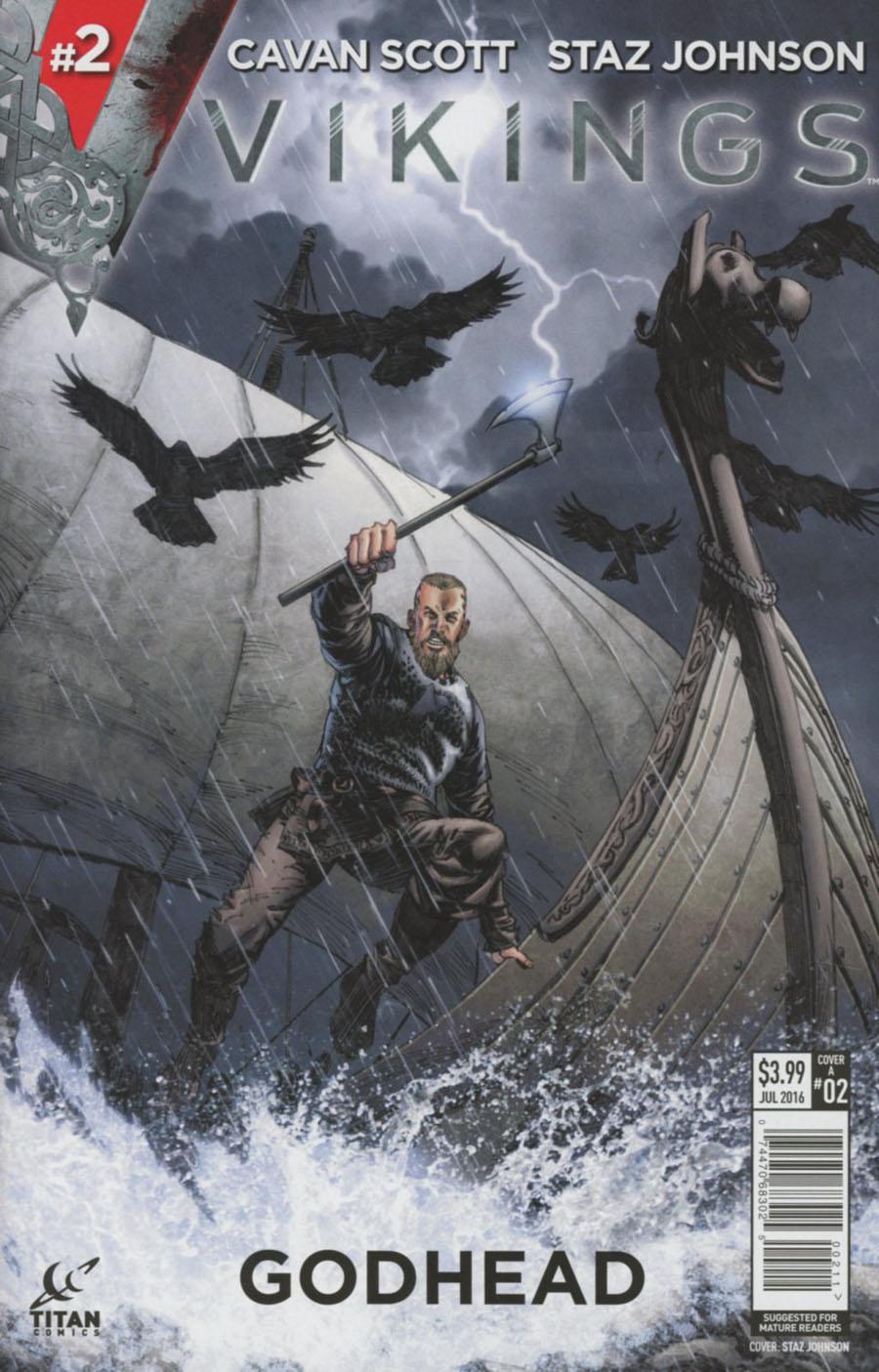 Vikings #2 Cover A Regular Staz Johnson Cover