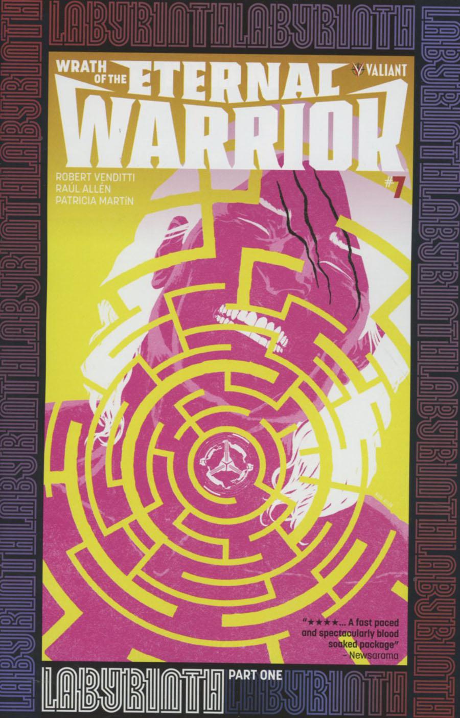 Wrath Of The Eternal Warrior #7 Cover A Regular Raul Allen Cover