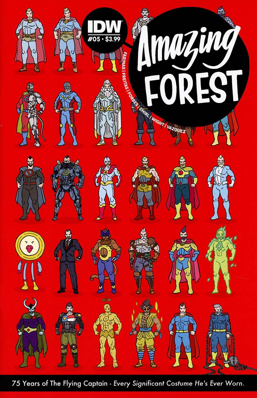 Amazing Forest #5 Cover A Regular Ulises Farinas Cover