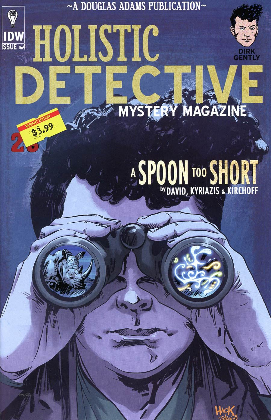 Dirk Gentlys Holistic Detective Agency A Spoon Too Short #4 Cover B Variant Robert Hack Subscription Cover