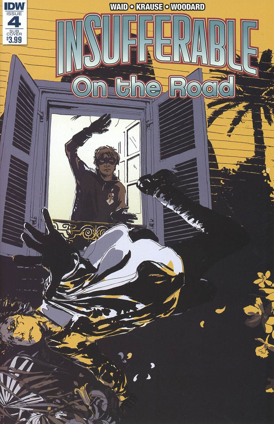 Insufferable On The Road #4 Cover B Variant Alison Sampson Subscription Cover