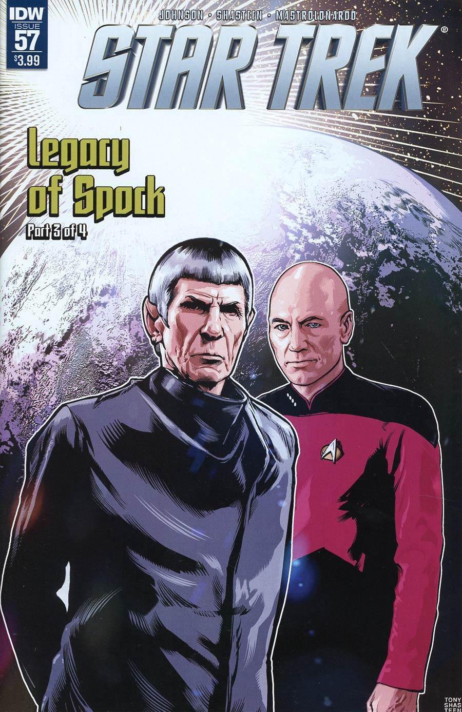 Star Trek (IDW) #57 Cover A Regular Tony Shasteen Cover