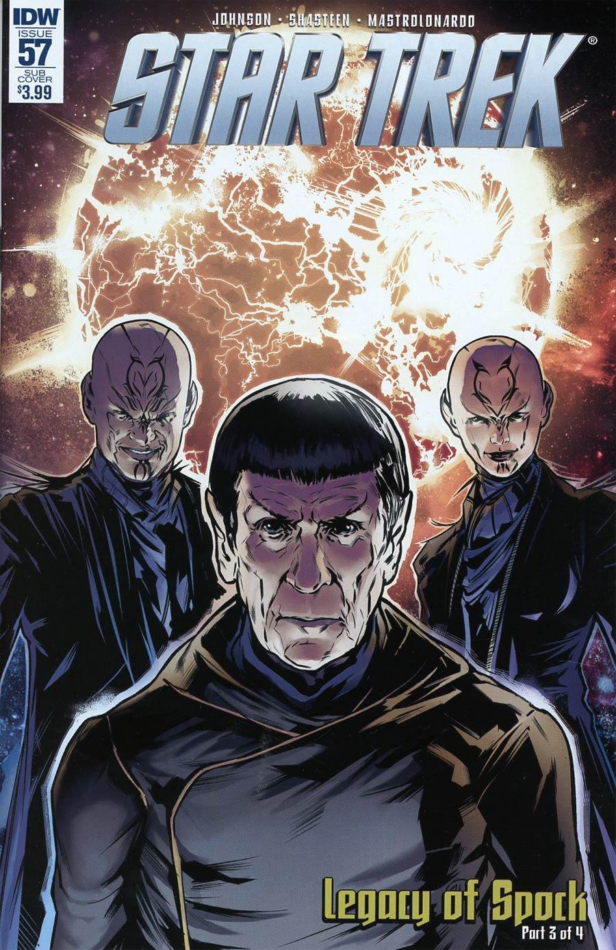 Star Trek (IDW) #57 Cover B Variant Angel Hernandez Subscription Cover