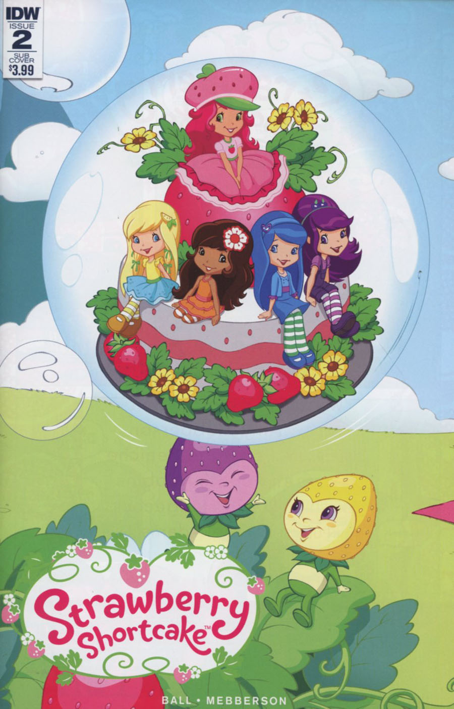 Strawberry Shortcake Vol 3 #2 Cover B Variant Tina Francisco Subscription Cover