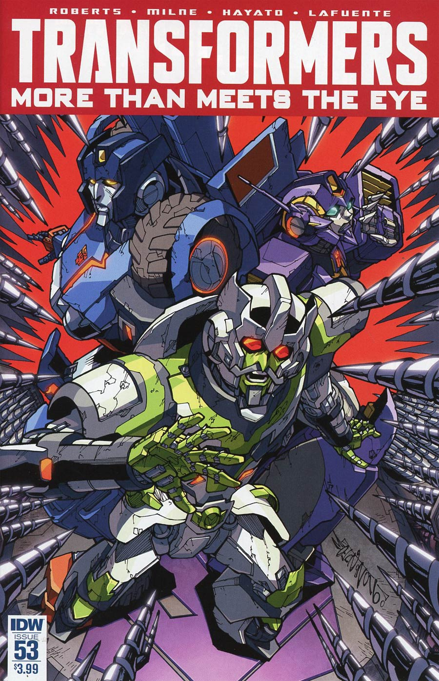 Transformers More Than Meets The Eye #53 Cover A Regular Alex Milne Cover