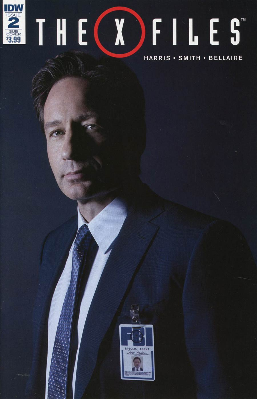 X-Files Vol 3 #2 Cover B Variant Photo Subscription Cover