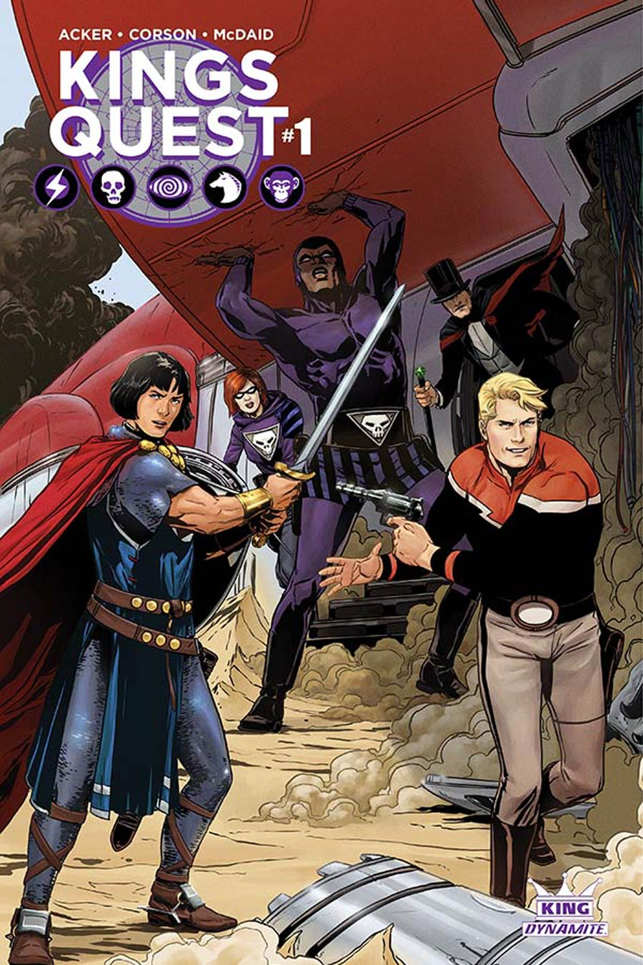 Kings Quest #1 Cover A Regular Marc Laming Cover