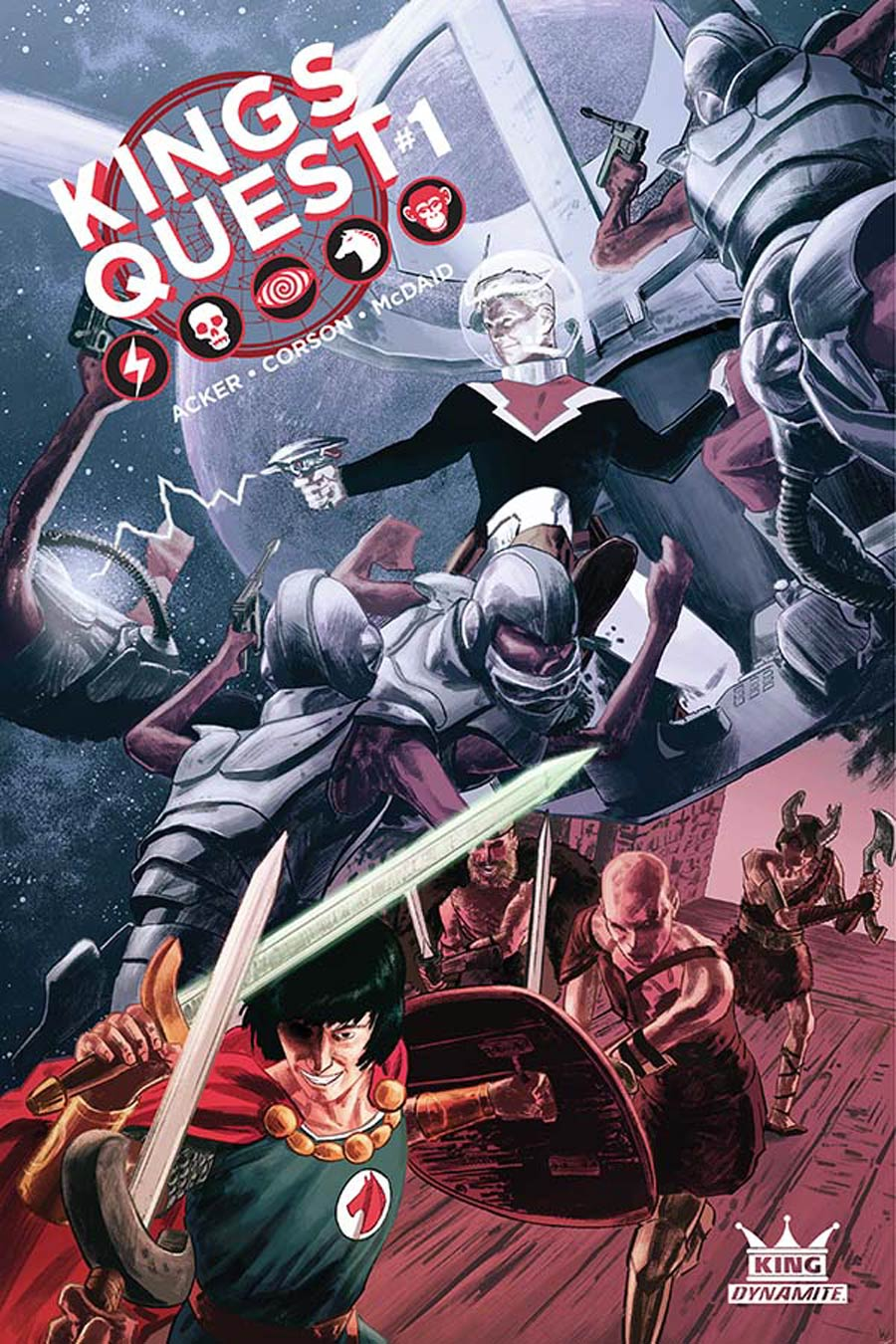 Kings Quest #1 Cover E Variant Colton Worley Subscription Cover