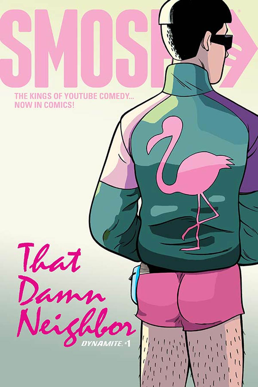 Smosh #1 Cover B Variant Yale Stewart Cover