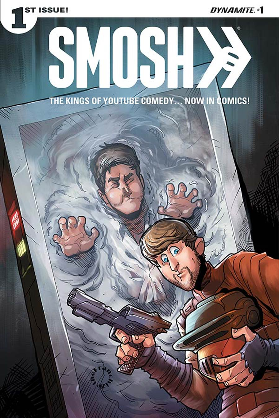 Smosh #1 Cover C Variant Jerry Gaylord May The Fourth Cover