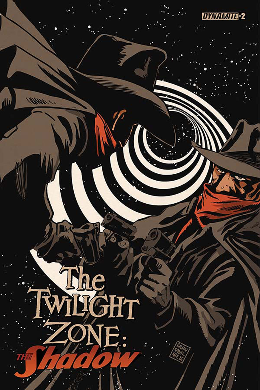 Twilight Zone Shadow #2 Cover A Regular Francesco Francavilla Cover