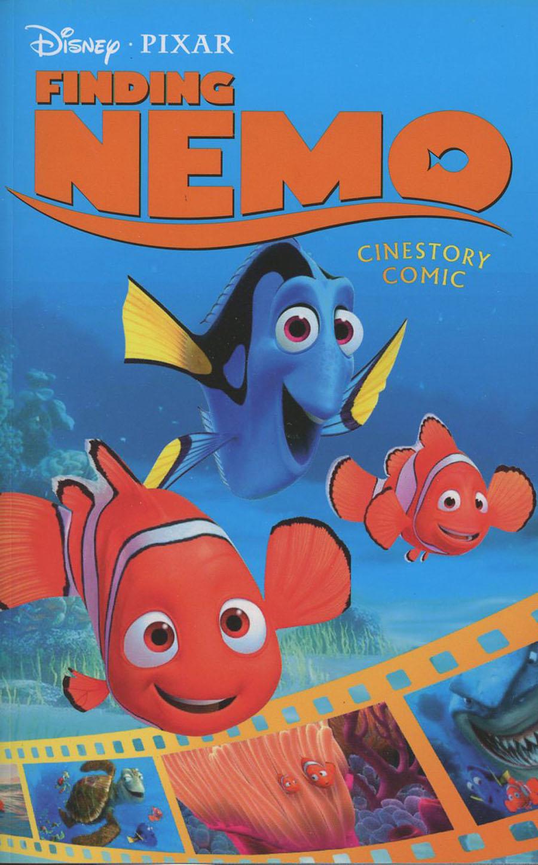 Disney Pixars Finding Nemo Cinestory Comic TP