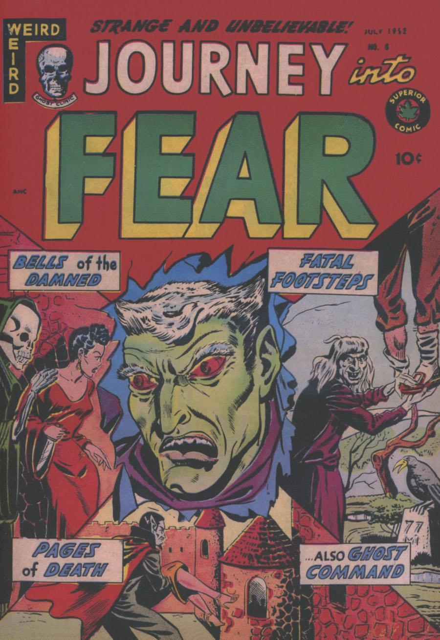 Pre-Code Classics Journey Into Fear Vol 2 HC Slipcase Edition