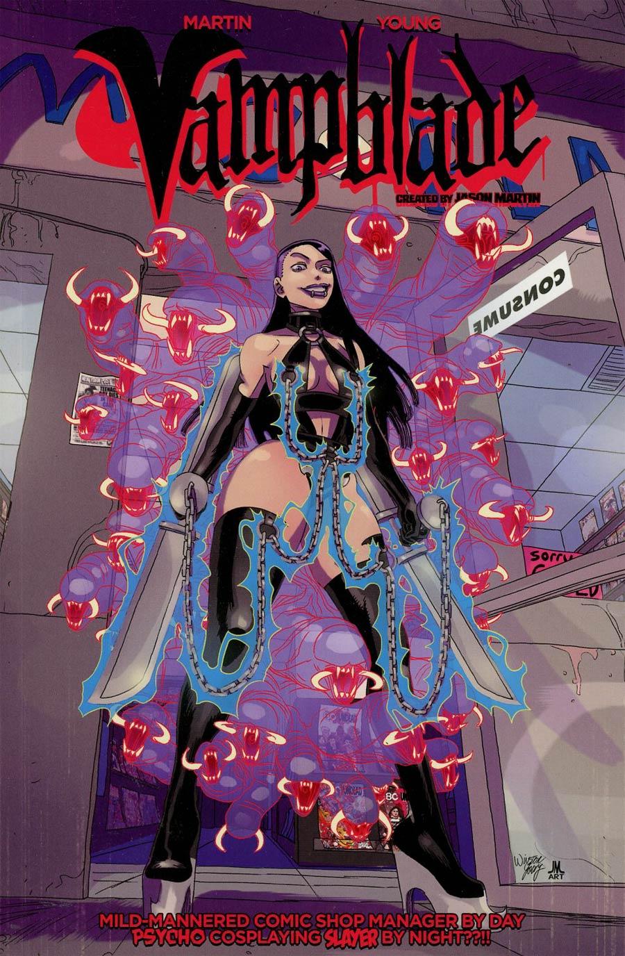 Vampblade Vol 1 I Am Vampblade TP Regular Cover