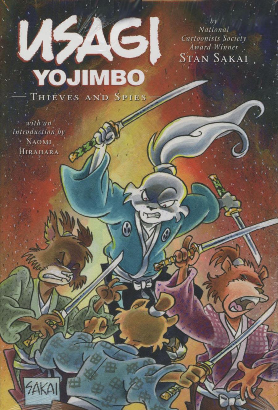 Usagi Yojimbo Vol 30 Thieves And Spies Limited Edition HC