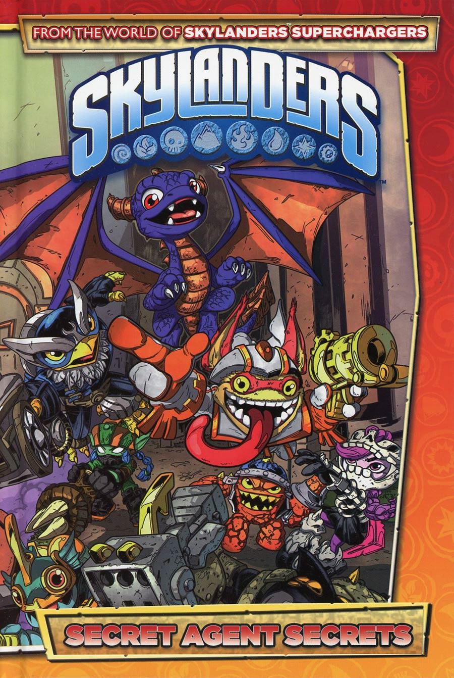 Skylanders Secret Agent Secrets HC