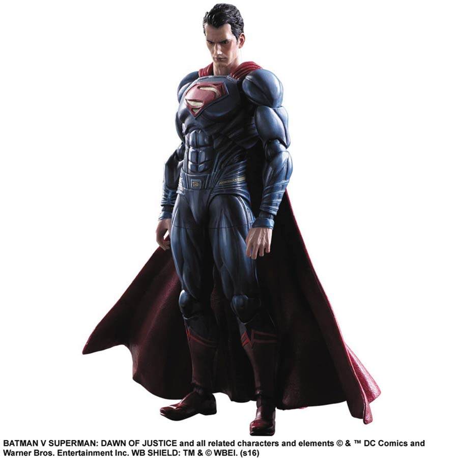 Batman v Superman Dawn Of Justice Play Arts Kai Action Figure - Superman