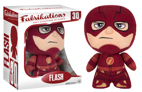 Fabrikations 30 Flash Flash 6-Inch Sculpted Plushie