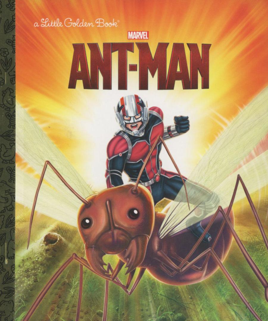 Ant-Man Little Golden Book HC
